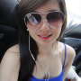braces breasts filipina non-celebrity sleeveless smiling sunglasses