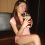 cross-legged drinking filipina legs non-celebrity sitting thighs