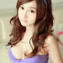 breasts chinese cleavage hair_ornament headband lin_ketong