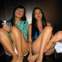 feet filipina legs non-celebrity shorts sitting thighs two_girls