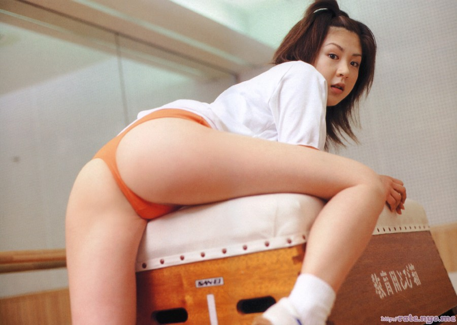 aki_hoshino bloomers butt japanese legs socks thighs