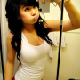 asian_american breasts non-celebrity selfshot sleeveless