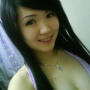 breasts cleavage indonesian non-celebrity sleeveless smiling