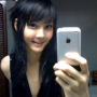 non-celebrity selfshot sleeveless smiling thai
