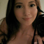 breasts cleavage filipina non-celebrity selfshot sleeveless smiling