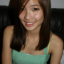 breasts chinese malaysian sleeveless smiling
