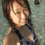 beach breasts malaysian non-celebrity smiling wet