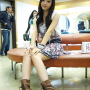 boots dress goo_hara korean legs sitting
