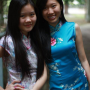 braces breasts malaysian non-celebrity smiling two_girls
