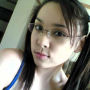 filipina glasses non-celebrity pigtails