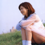aki_hoshino japanese legs schoolgirl see-through sitting smiling socks thighs