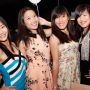 breasts dress four_girls hand_on_waist malaysian non-celebrity