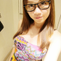 breasts glasses malaysian non-celebrity sleeveless