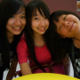 breasts malaysian non-celebrity selfshot smiling three_girls