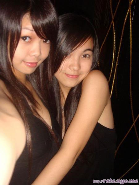 breasts cleavage malaysian non-celebrity two_girls