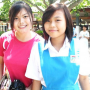 breasts malaysian non-celebrity schoolgirl smiling two_girls
