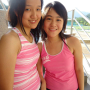 breasts malaysian non-celebrity sleeveless smiling two_girls