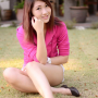full_body high_heels legs malaysian non-celebrity sitting smiling thighs