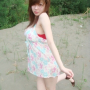 breasts dress legs standing taiwanese thighs xiangting_xu