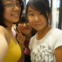 breasts glasses malaysian non-celebrity selfshot smiling three_girls