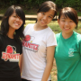 breasts malaysian non-celebrity shirt smiling three_girls