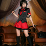 cosplay glasses high_heels korean legs miyuko skirt socks sword thighs