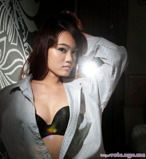 bra breasts cleavage malaysian non-celebrity open_shirt