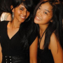 indian malaysian non-celebrity sleeveless smiling two_girls
