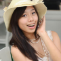 braces breasts hat malaysian non-celebrity sleeveless smiling