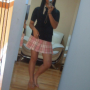 feet full_body glasses legs non-celebrity selfshot singaporean skirt thighs