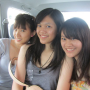 breasts malaysian non-celebrity selfshot shirt sleeveless smiling three_girls