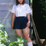 full_body japanese legs non-celebrity schoolgirl skirt socks thighs