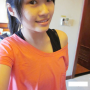 breasts malaysian non-celebrity selfshot shirt shoulders smiling