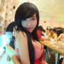 breasts cleavage elly_tran_ha shoulders sitting sleeveless vietnamese