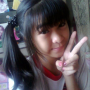 filipina non-celebrity peace_sign pigtails