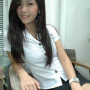 breasts non-celebrity sitting skirt smiling thai