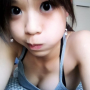 armpits breasts cleavage lying_down non-celebrity on_stomach pouting shoulders sleeveless taiwanese