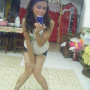 feet filipina full_body legs non-celebrity selfshot shorts shoulders smiling thighs