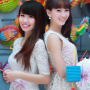 breasts non-celebrity shoulders smiling two_girls vietnamese