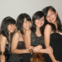 breasts four_girls malaysian non-celebrity shoulders smiling