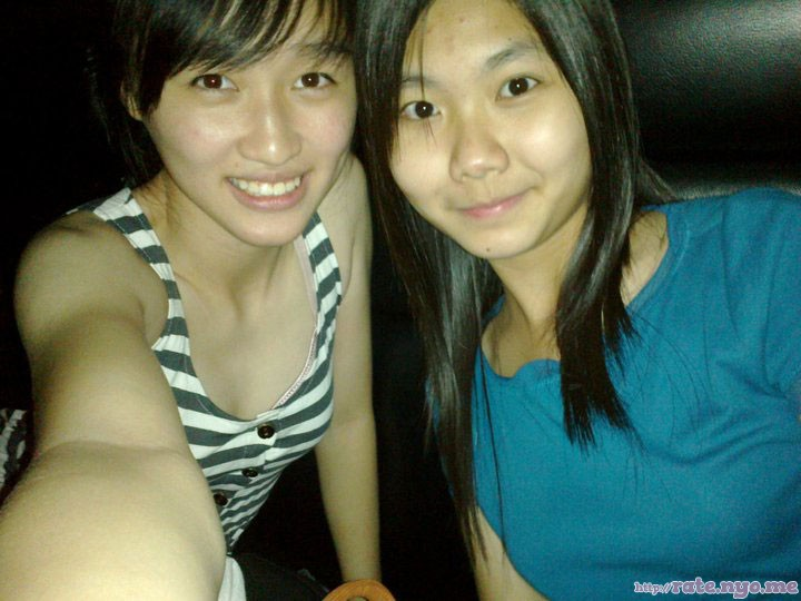 breasts malaysian non-celebrity selfshot shoulders sleeveless two_girls