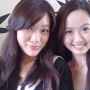 malaysian non-celebrity smiling two_girls