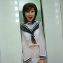aki_hoshino breasts japanese midriff schoolgirl see-through standing