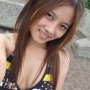 breasts cleavage filipina non-celebrity selfshot shoulders smiling
