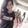 filipina non-celebrity selfshot shirt smiling