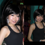 braces breasts chinese non-celebrity shoulders sleeveless smiling