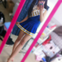 cheerleader feet full_body japanese legs non-celebrity pigtails selfshot shoulders skirt thighs