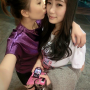 chinese kissing non-celebrity selfshot two_girls