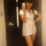 chinese hand_on_waist legs non-celebrity pouting selfshot short_dress standing thighs