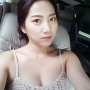 breasts cleavage korean non-celebrity sleeveless